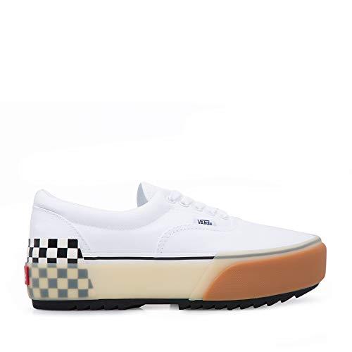 VANS ERA Stacked Platform Zapatos Deportivos para Mujer Blanco VN0A4BTOTDC1