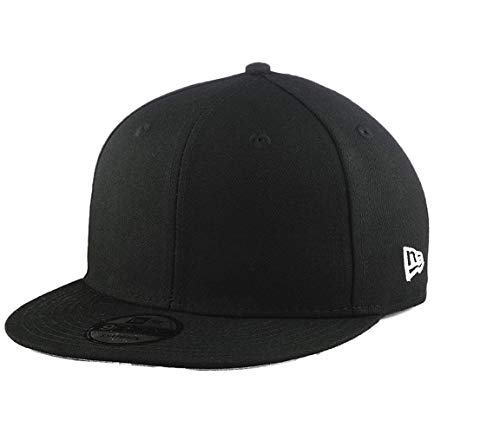 Blank New Era Custom 9FIFTY Cap (Adjustable, Black)