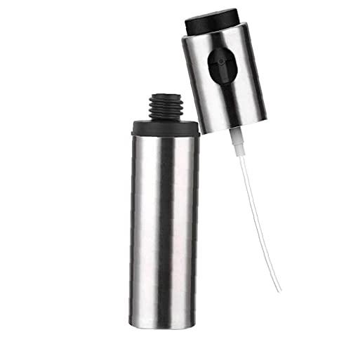 Obelunrp Pulverizador de Aceite Dispensador Acero Inoxidable Cocina Vinagre Botellas de Aerosol para Hornear Herramientas de Barbacoa a la Parrilla