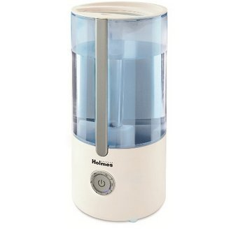 Holmes Ultrasonic Cool Mist Filter Free Humidifier - White