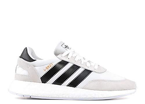 adidas I-5923 Sportschuhe für Herren, Mehrfarbig - weiß schwarz grün - Größe: 43 EU