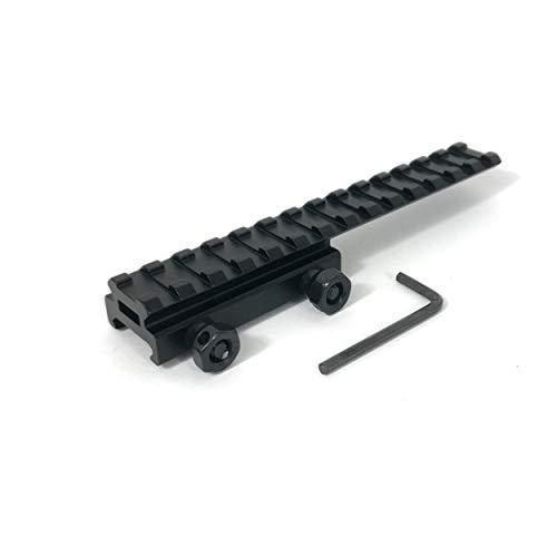 ZEITWISE Weaverschiene 21 mm Weaver Adapter Schwalbenschwanz Picatinny Rail 14,5 cm Länge