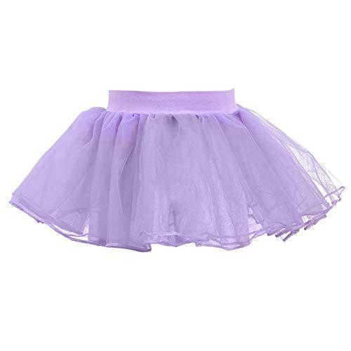 Baby Girl Dress Mini Vestido Ballet Dance Fluffy Tutu Skirt Dancewear, 7 Colores Diferentes, Ajuste 1-6 años niñas