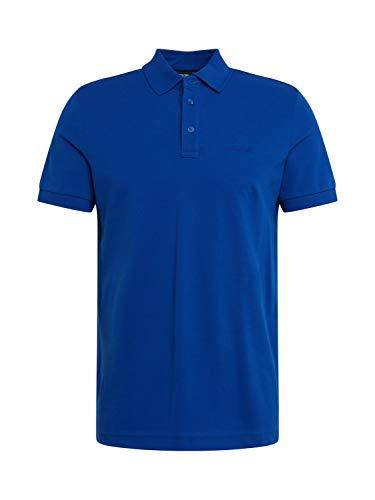 Joop! Poloshirt Primus Halbarm geknöpfter Kragen Pique Navy Größe XL