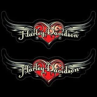 Harley-Davidson Steel Heart 2-Piece Classic Emblemz