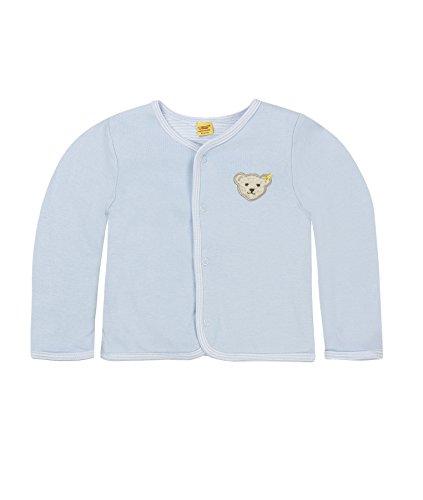 Steiff Steiff Baby-Unisex 6617 Sweatshirt, Blau Baby Blue|Blue 3023, 74