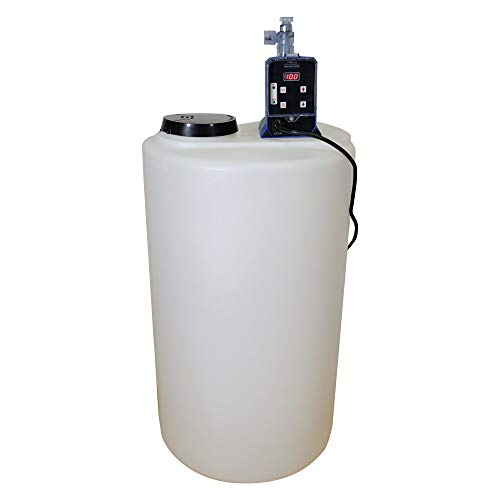 JPRO Chlorinator Well Water Package J-PRO-22 + 15 Gal. Solution Tank