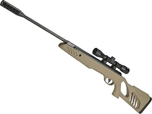 Evike Swiss Arms TAC-1 Break Barrel Air Rifle with 4x32 Scope - Dark Earth (.177 Cal Airgun)