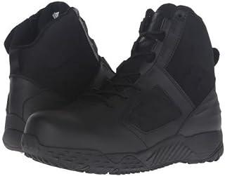 [アンダーアーマー] メンズ 男性用 シューズ 靴 ブーツ 安全靴 ワーカーブーツ UA Tac Zip 2.0 Protect - Black/Black [並行輸入品]