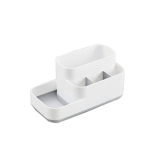 SMEJS Estante de cosméticos Funcional, Caja de Almacenamiento de cosméticos de Rejilla de Escritorio, Caja de Almacenamiento de baño de Cocina, Caja de Almacenamiento de joyería de Oficina
