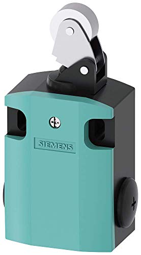 Siemens 3SE5 122-0CE02 International Limit Switch Complete Unit, Roller Lever, 56mm Metal Enclosure, Metal Lever, 22mm High Grade Steel Roller, Snap Action Contacts, 1 NO + 1 NC Contacts