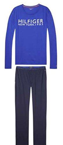 Tommy Hilfiger Set LS Logo, Pijama para Hombre