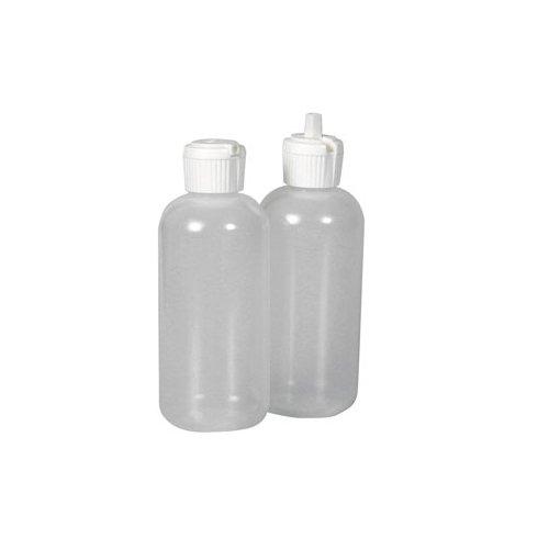 Relags Fläschchen mit Klappausgiesser Flasche, transparent, 120ml