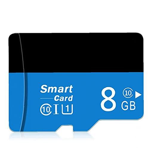 YepYes Micro SD Card con Adpter Alta Velocidad TF Tarjeta de Memoria para móviles con cámaras de 8 GB Reproductor MP3
