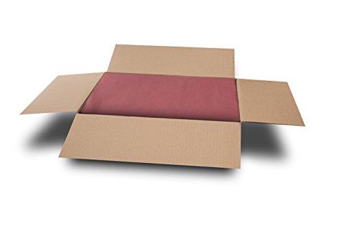MORIGAMI Mantel Individual, 30 x 40 Cm Gofrado, 44 Gramos, Burdeos, Set de 800 unidades (MT30100010)