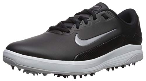 Nike Men's Vapor Sneaker, Black/Metallic Cool Grey - White - Pure Platimun, 8 Regular US