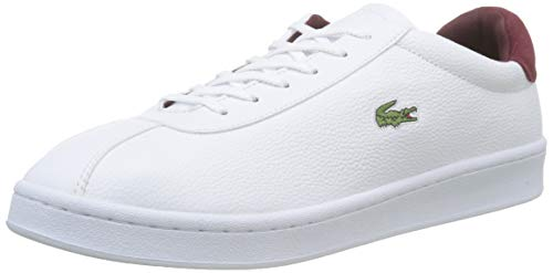 Lacoste Masters 319 1 SMA, Baskets Hommes, Blanc (WHT/DK Red 1y8), 42...