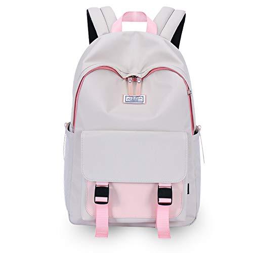 FANDARE Sac à Dos de Loisirs Femme Cartable Fille Sacs Scolaires pour 14 inch Laptop Backpack...