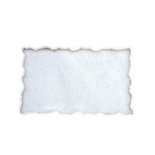 Bestine - Stampo in silicone, grande stampo in resina, per sottobicchieri irregolari, per stampi in resina epossidica
