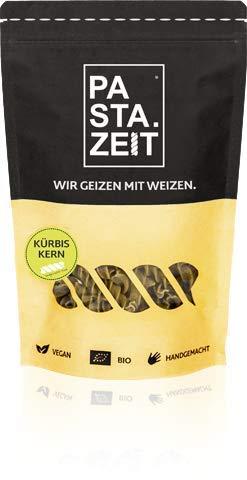 PASTAZEIT Kürbiskern Nudeln - Low Carb Nudeln aus BIO Kürbiskernmehl und Linsenmehl - Proteinreich, Vegan, Weizenfrei (5 x 250g)