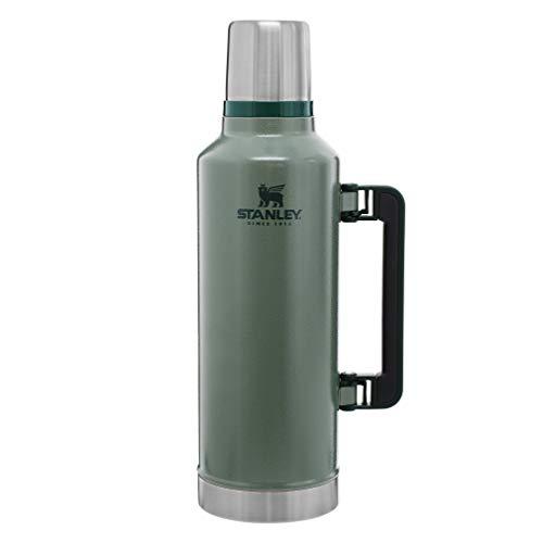 Stanley Garrafa térmica clássica de boca larga isolada a vácuo – sem BPA de aço inoxidável 18/8 para bebidas frias e quentes – mantém o líquido quente ou frio por até 24 horas