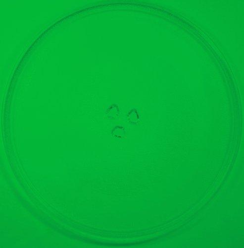 Mikrowellenteller / Drehteller / Glasteller für Mikrowelle # ersetzt Technostar Mikrowellenteller # Durchmesser Ø 34 cm / 340 mm # Ersatzteller # Ersatzteil für die Mikrowelle # Ersatz-Drehteller # OHNE Drehring # OHNE Drehkreuz # OHNE Mitnehmer