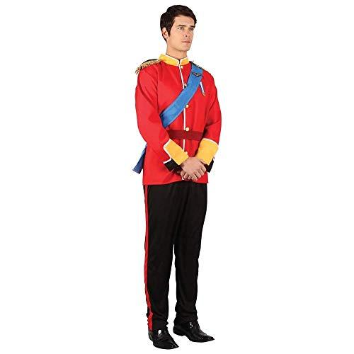 Wicked - Costume da soldatino principe azzurro da uomo