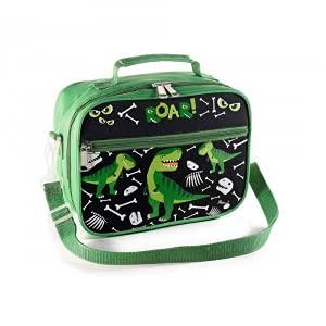Lunch merienda box nevera con bolsillo interior Dinosaurio