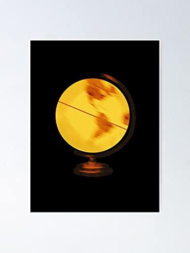 AZSTEEL Globe Poster