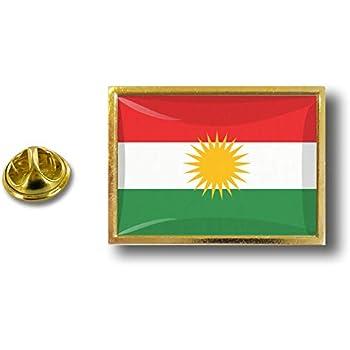 pins pin/'s flag national badge metal lapel backpack hat button vest kurdistan