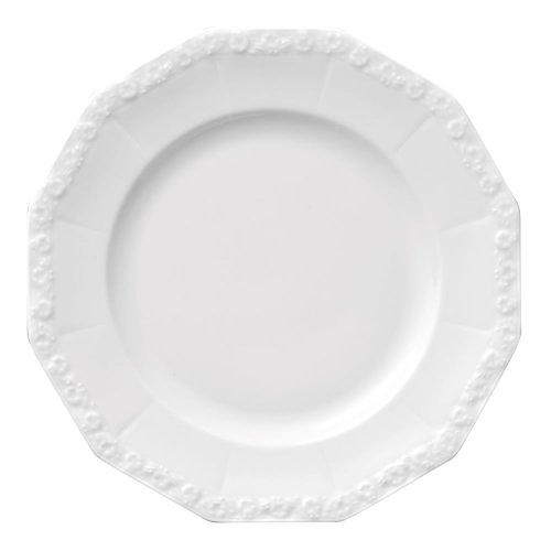 Rosenthal 10430-800001-10221 Maria Frühstücksteller 21 cm, weiß