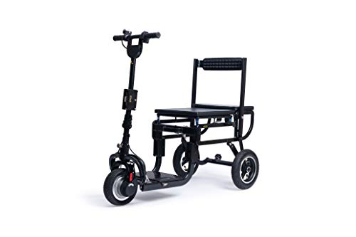 Assurance Mobility eFoldi Lite Folding Suitcase Scooter Manual Fold Super Lightweight