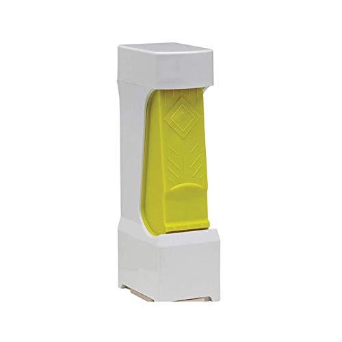 Cortador De Queso De Mantequilla Clic con Cuchilla De Acero Inoxidable Dispensador De Rebanador De Mantequilla De Queso