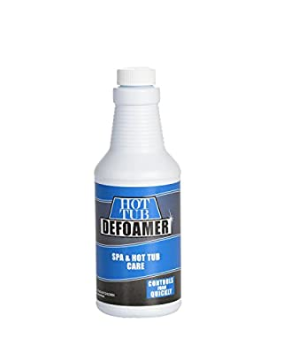 Bluewater Chemgroup Spa and Hot Tub Defoamer - Quickly Takes Foam Down - 16 Ounce Pint