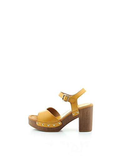 Unisa Damen Sandaletten Taco_Ran gelb (31) 38