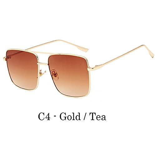 Gafas De Sol De Mujer, Gafas De Sol Cuadradas De Gran Tamaño Para Hombres, Mujeres, Celebridades, Gafas De Sol Para Hombres, Conducción, Superestrella, De Lujo, Para Mujer, Gafas De Sol Uv400 Para D