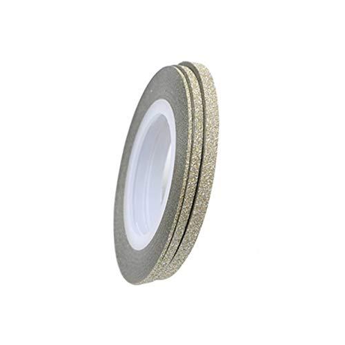 Couleurs mélangées Glitter Bling Rolls Striping Tape Line DIY Nail Art Conseils Décoration Autocollant Nail Art Metallic Grind Strips