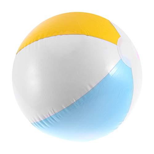 TOYANDONA aufblasbarer Wasserball aufblasbarer Ballon Sport Kickball Handball Spielen Spielzeug für Kinder Erwachsene Schwimmbad Meer Sommer aktivitäten 40cm