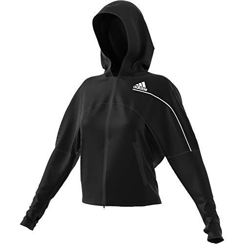 adidas W ZNE A H C.RDY Sweatshirt, Mujer, Black, S