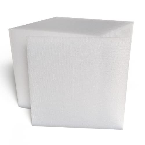 IMBALLAGGI 2000-30 Pannelli Polistirolo Isolanti - 100x100x2 cm - Ideali per Isolamento Termico Pareti, Soffitto e Controsoffitto - Densità di 10 kg/mq - Confezione da 30 Pezzi
