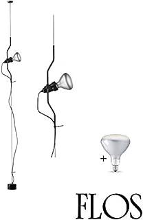 Lampada Led Filamento E27 R125 Riflettore 8W Dimmerabile Triac Dimmer In Vetro
