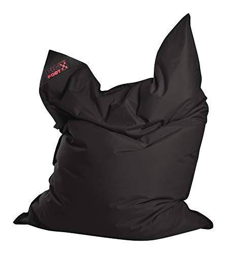 Sitting Point BigFoot SCUBA - bequemer Sitzsack - 130x170x20cm - 380L - Indoor/Outdoor - Made in Germany - Schwarz