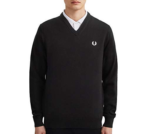 Fred Perry Classic V-Neck Jumper Sweater Heren