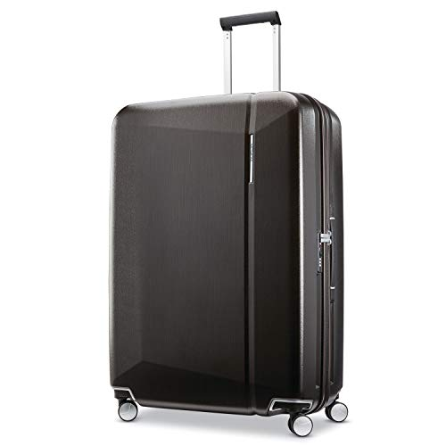 Samsonite Etude Hardside Luggage with Spinner Wheels, Cedar Wood, Checked-Large 30-Inch