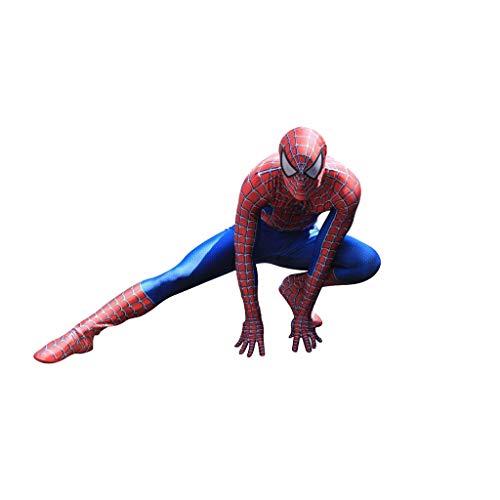 XXW nuevo traje de Spiderman 3D impreso Lycra Spandex adulto traje de hombre araña para la mascota de Halloween Cosplay
