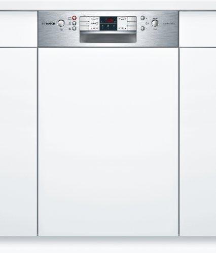 Bosch SPI53M25EU teilintegrierbarer Geschirrspüler / Einbau / A+ A / 220 kWh/Jahr / 9 MGD / 2240 liter/Jahr / 44 db / Startzeitvorwahl / AquaStop / edelstahl / ActiveWater / 44.8 cm / Lieferung ohne Möbelfront