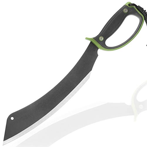 OS4YOU große 54cm Parang BK50 extrem Survival - Outdoor - Busch - Jungle - Hau - Machete/Messer mit TacHide Griff