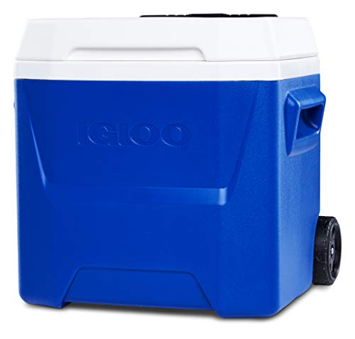 Igloo Laguna 16 Kühlbox mit Rollen, 15 Liter, Blau