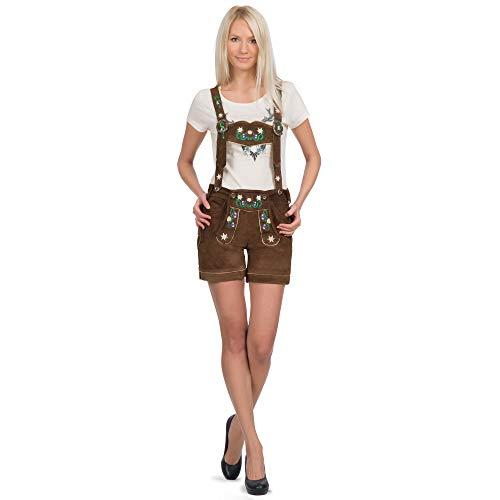 Iseaa Gl2330 Pantaloni, Marrone, 40 Donna