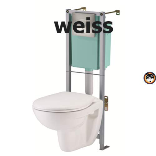*WOW* Wand WC Komplett Set Siamp WC Pack Standard Samoa mit WC Vorwandelement